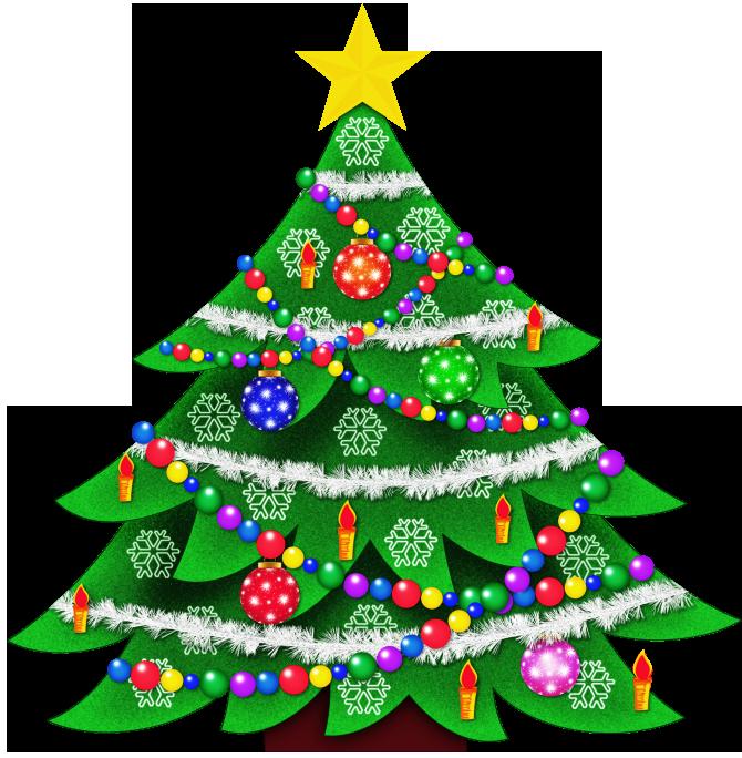 670x684 Christmas Tree Clip Art Tree Clipart 3