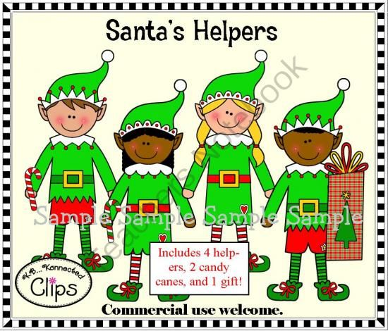 December Holiday Clipart