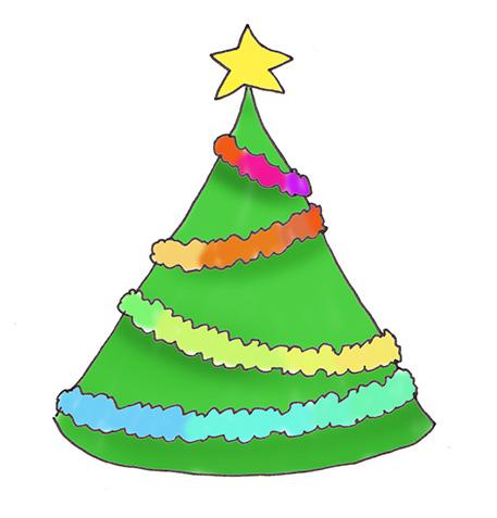 457x477 Christmas Tree Clip Art