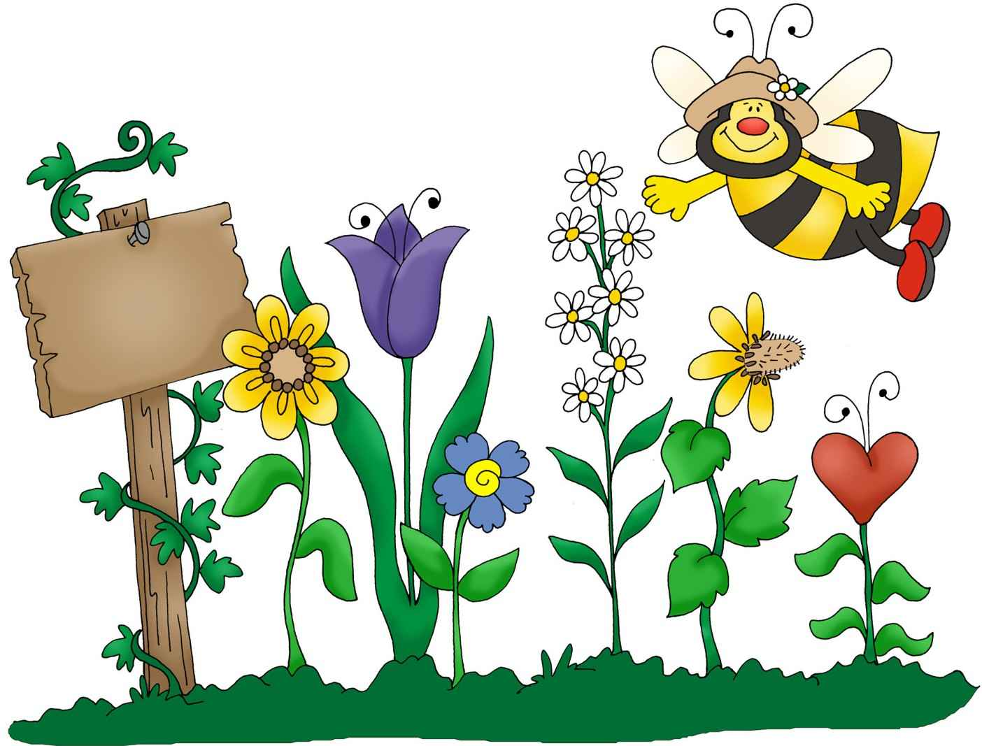 1404x1067 School Garden Clipart Cool Model On Garden Decor Ideas 0, Spring