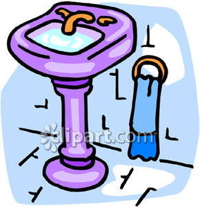 290x300 Fascinating Bathroom Sink Clipart Kitchen Free Images Clipartpost