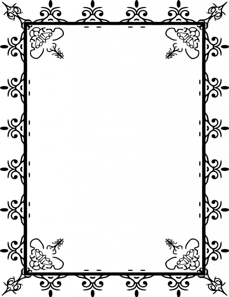 Decorative Frame Clipart | Free download best Decorative Frame ...