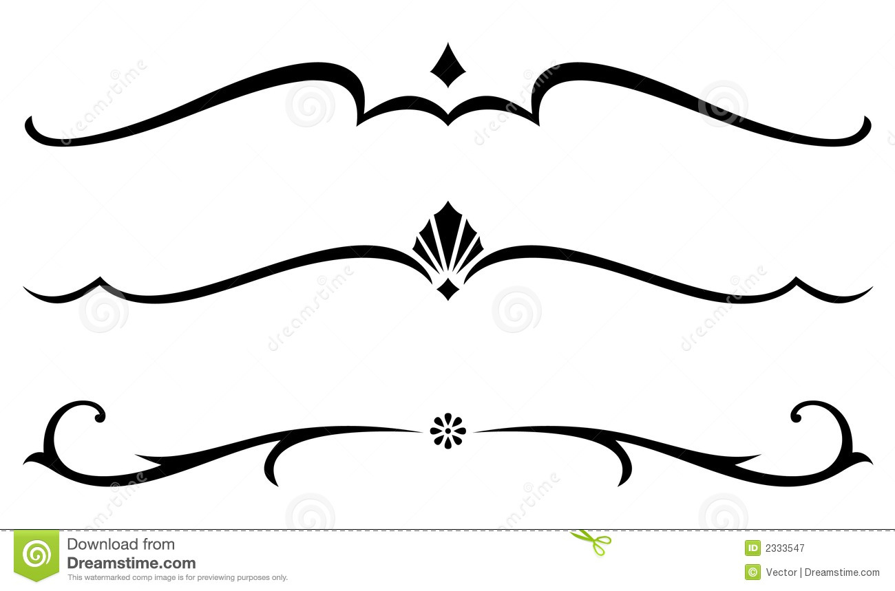 Free Decorative Lines Clip Art