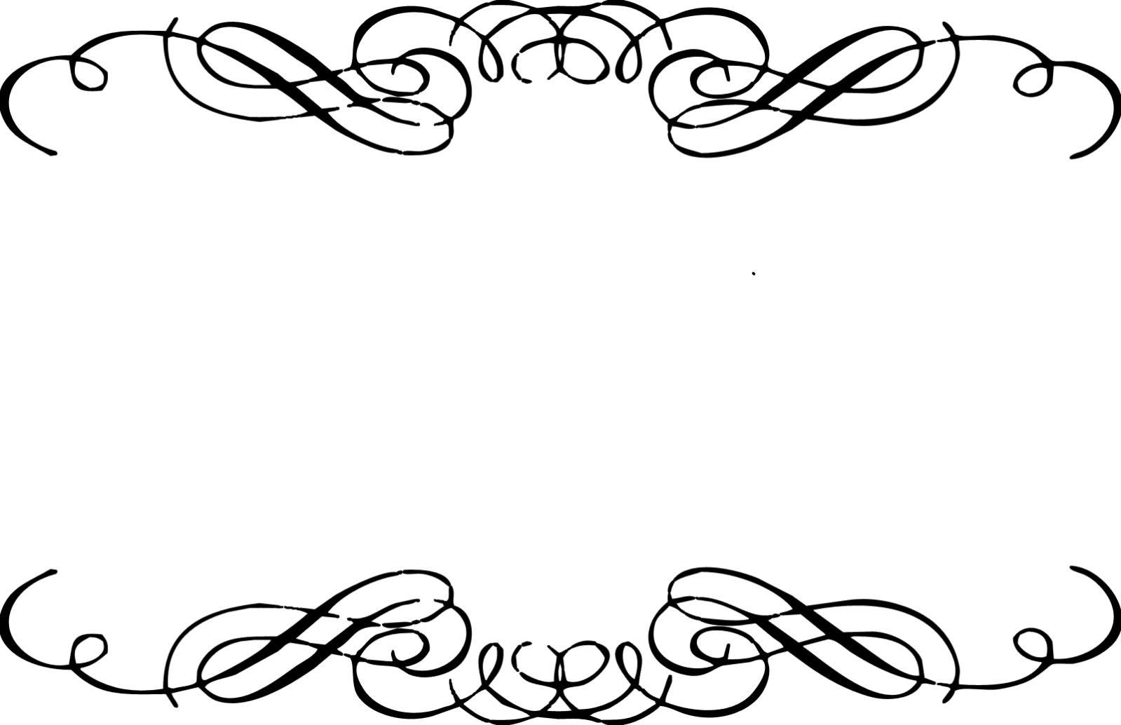 1599x1034 Decorative Borders Clipart