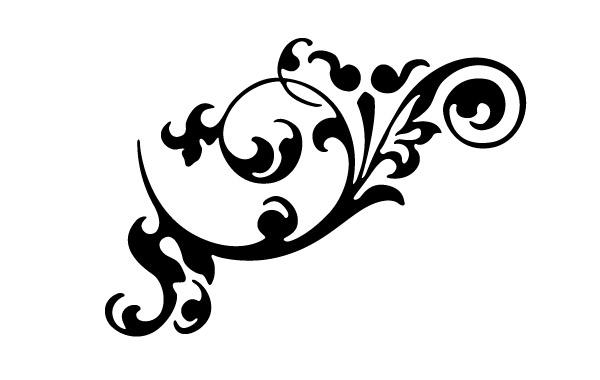600x380 Decorative Clip Art