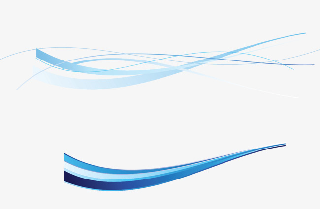 650x425 Decorative Blue Line, Curve, Line, Decorative Lines Png And Vector