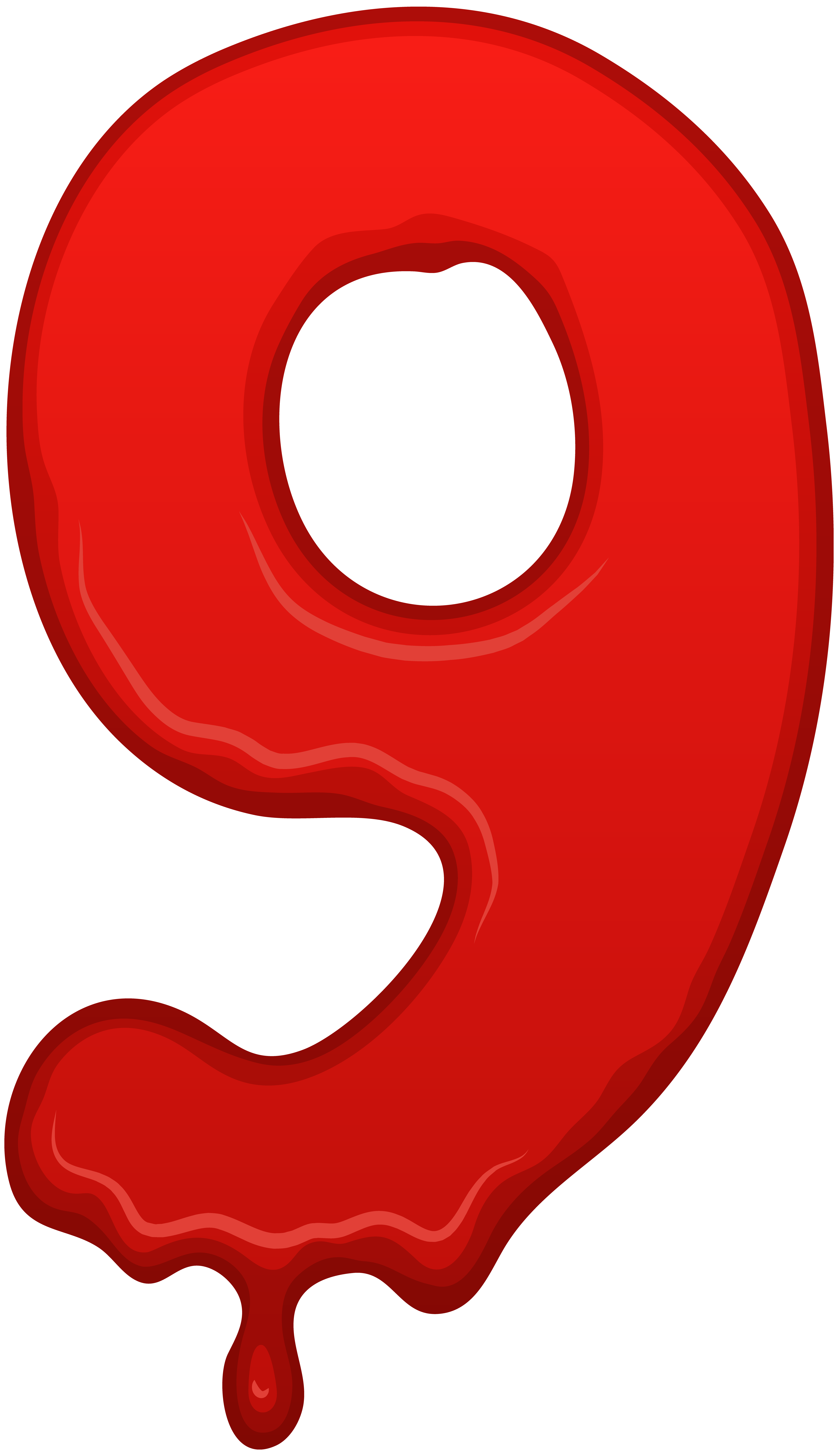 Number Nine Clipart