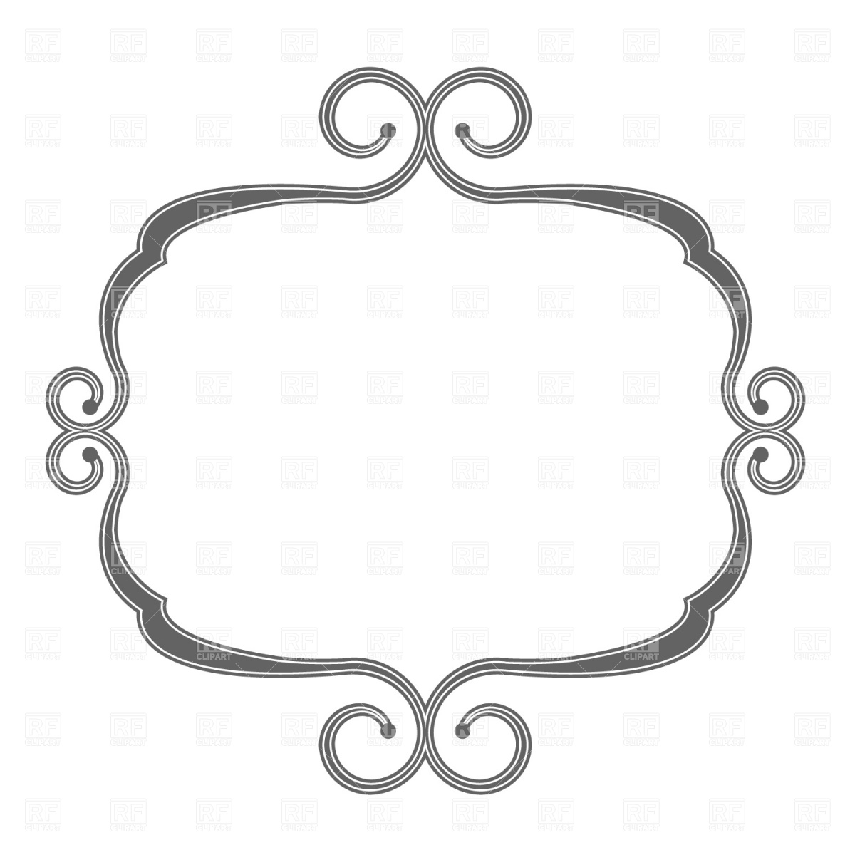 1200x1200 Decoration Clipart Decorative Shape