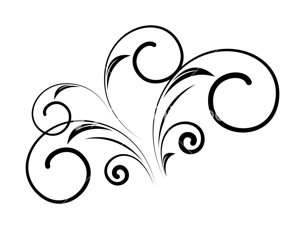 1000x752 Floral Clipart Decorative Shape