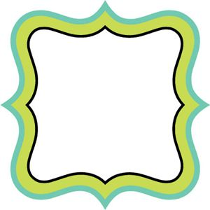 300x300 Templates Clipart Plaque Shape