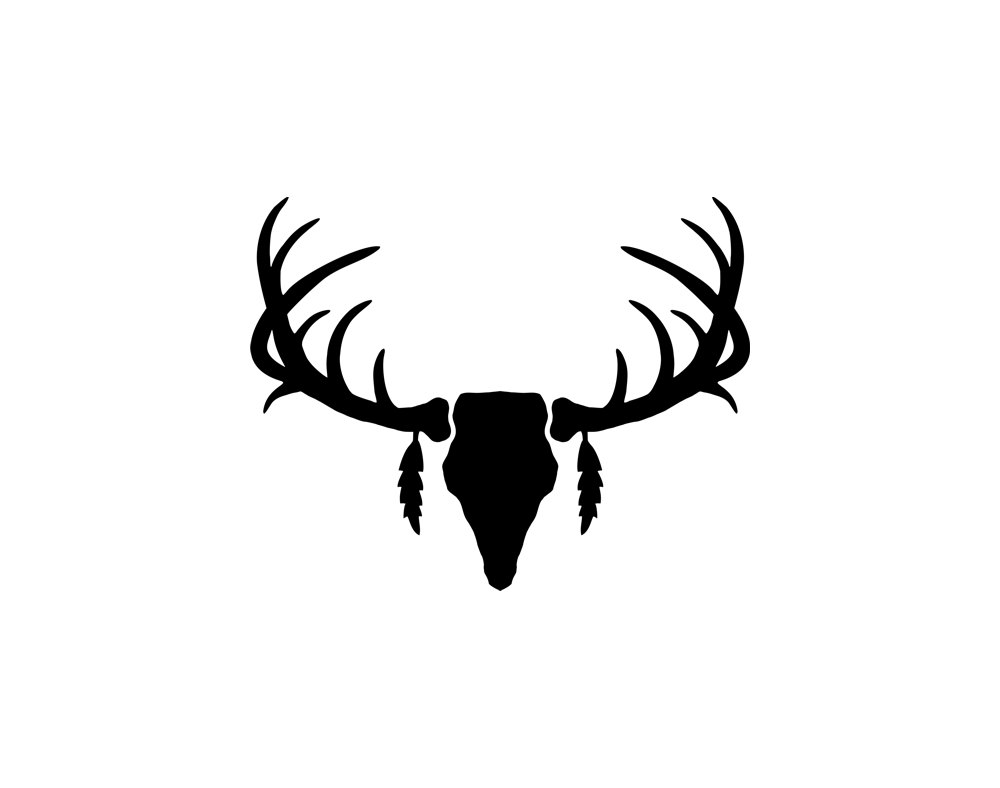 1000x788 Best Deer Skull Clip Art