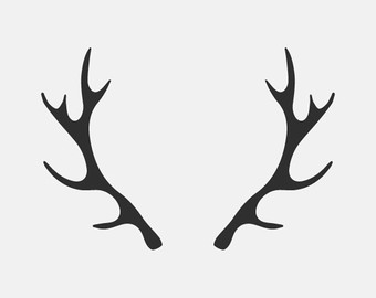 340x270 Horns Clipart Deer Antler