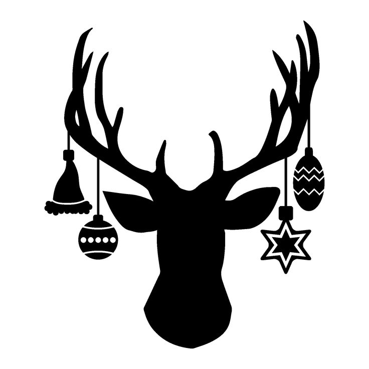 736x736 Best Deer Head Silhouette Ideas Deer Head