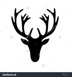 236x251 Deer Head Silhouettes