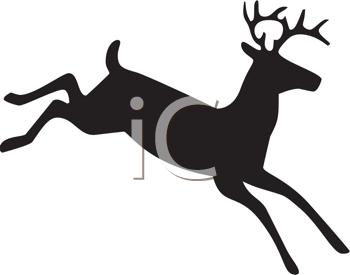 350x275 Royalty Free Deer Clip Art, Deer Clipart
