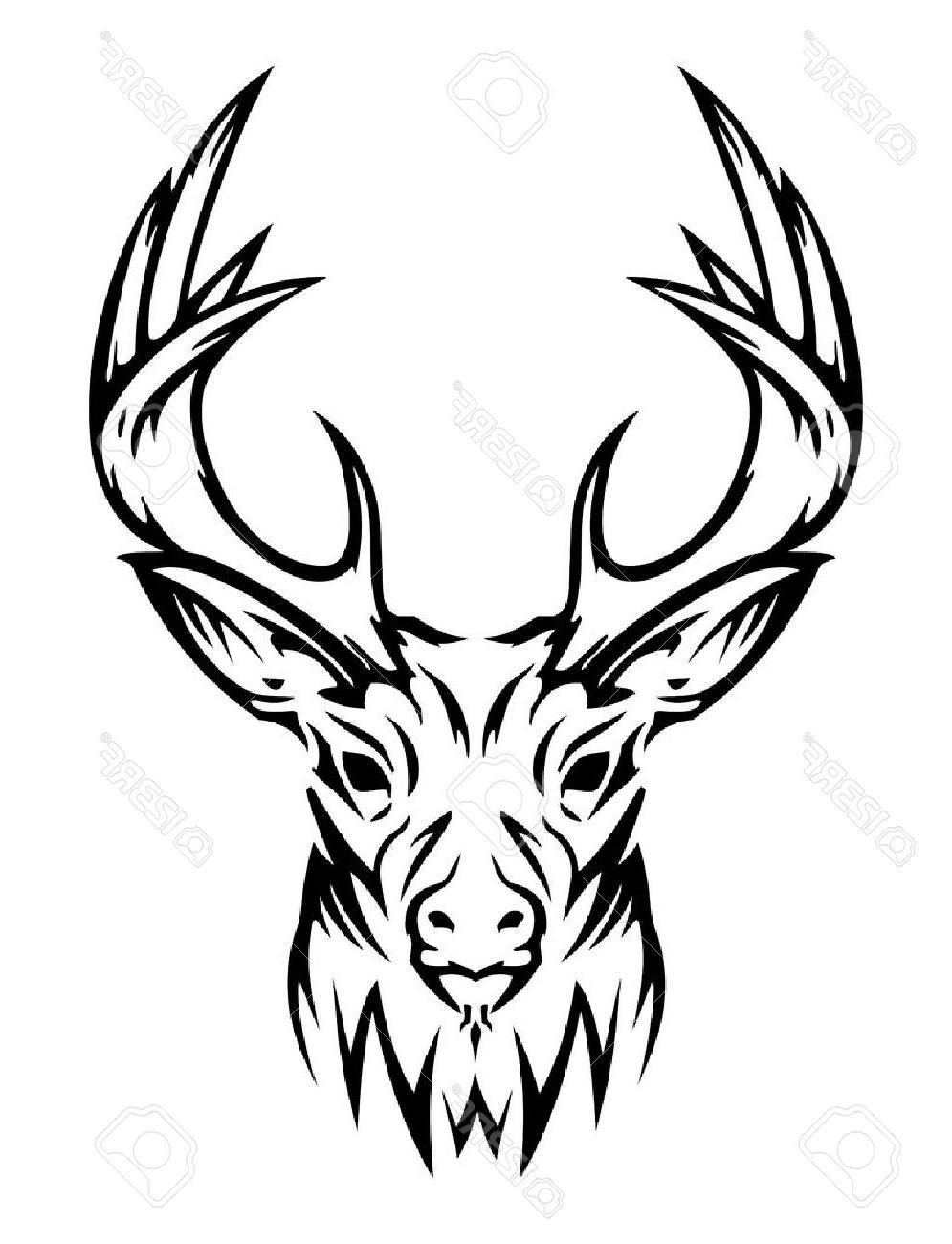 995x1300 Best Hd Tribal Deer Clip Art Vector Pictures Free Vector Art