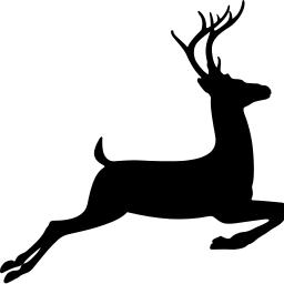 256x256 Deer Clipart Fast