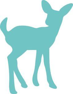 236x304 Printable Graphic Deer Silhouettes Image Download Animal Artwork