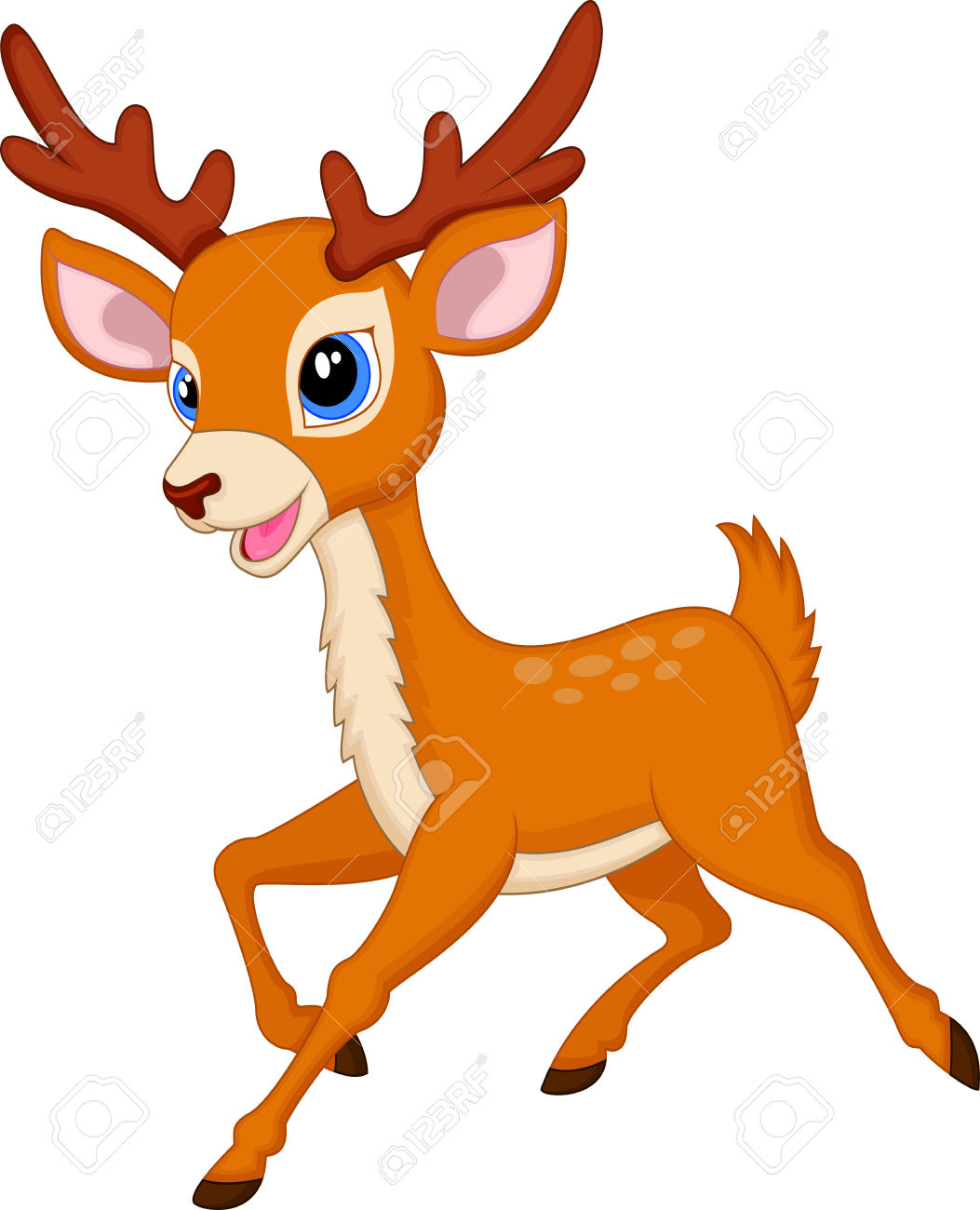 1053x1300 Deer Clip Art
