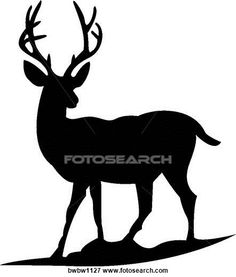 236x277 Deer Silhouette Clip Art