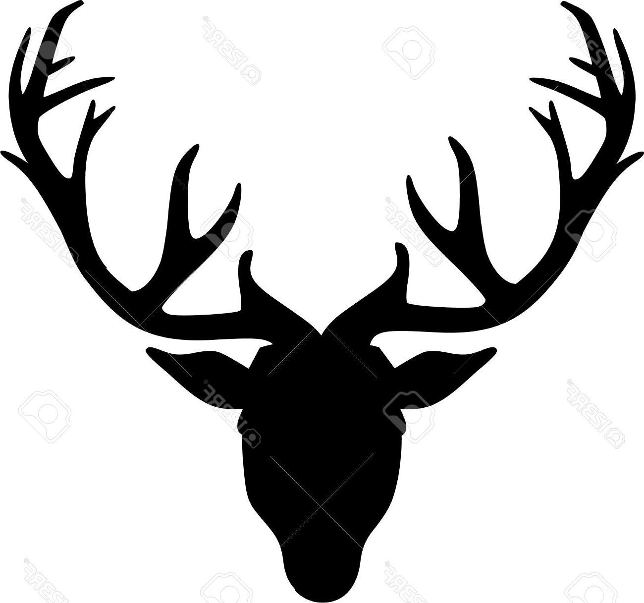 1300x1217 Best Deer Clipart Reindeer Head Pictures