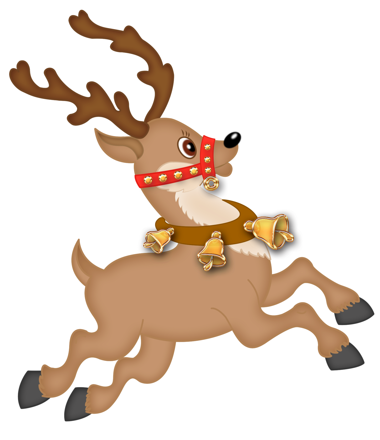 1594x1846 Free Christmas Deer Clipart