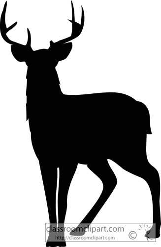 327x500 Top 10 Whitetail Deer Silhouette