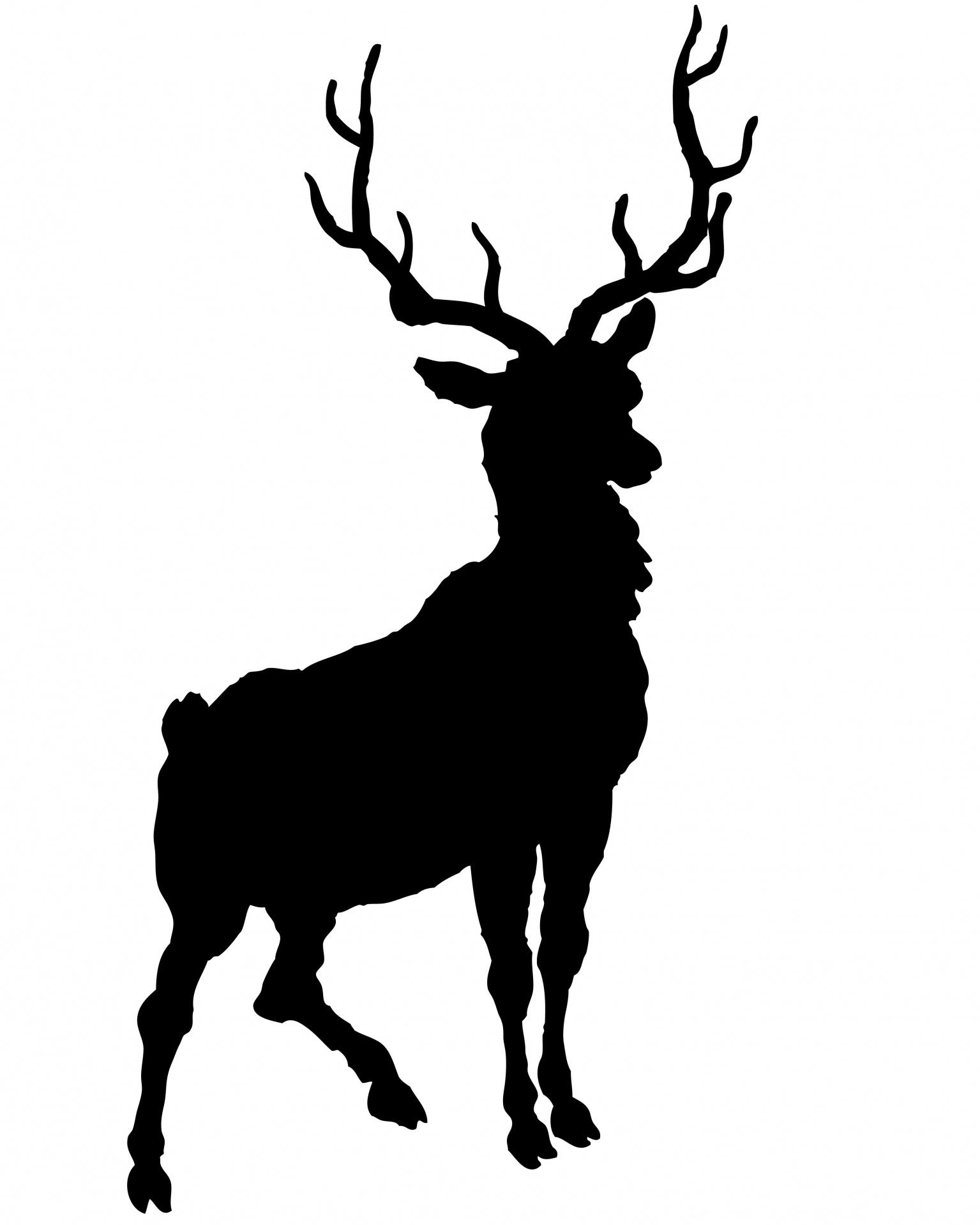1535x1920 Deer Clip Art