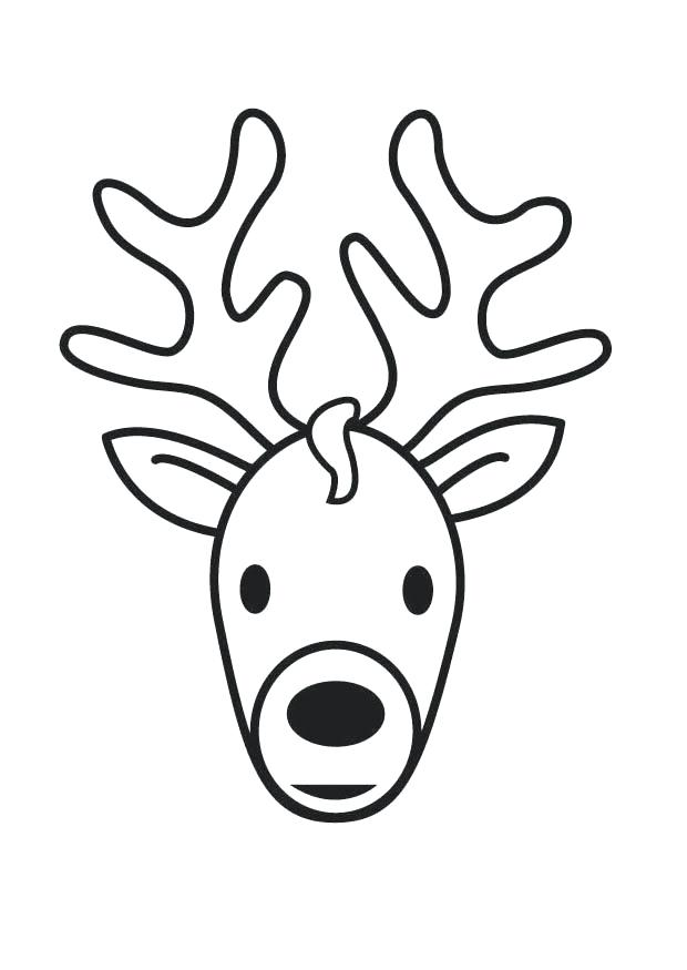 620x875 Coloring Pages Of Deer Thaypiniphone