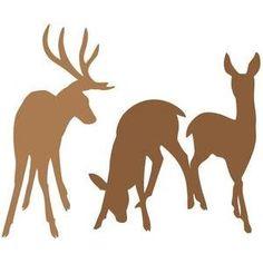 236x236 Deer Silhouette Clip Art Pack Silhouette Clip Artsilhouette Clip