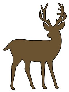 236x316 Deer Silhouette Family Vinyl Car Decal By Countrychicantiques