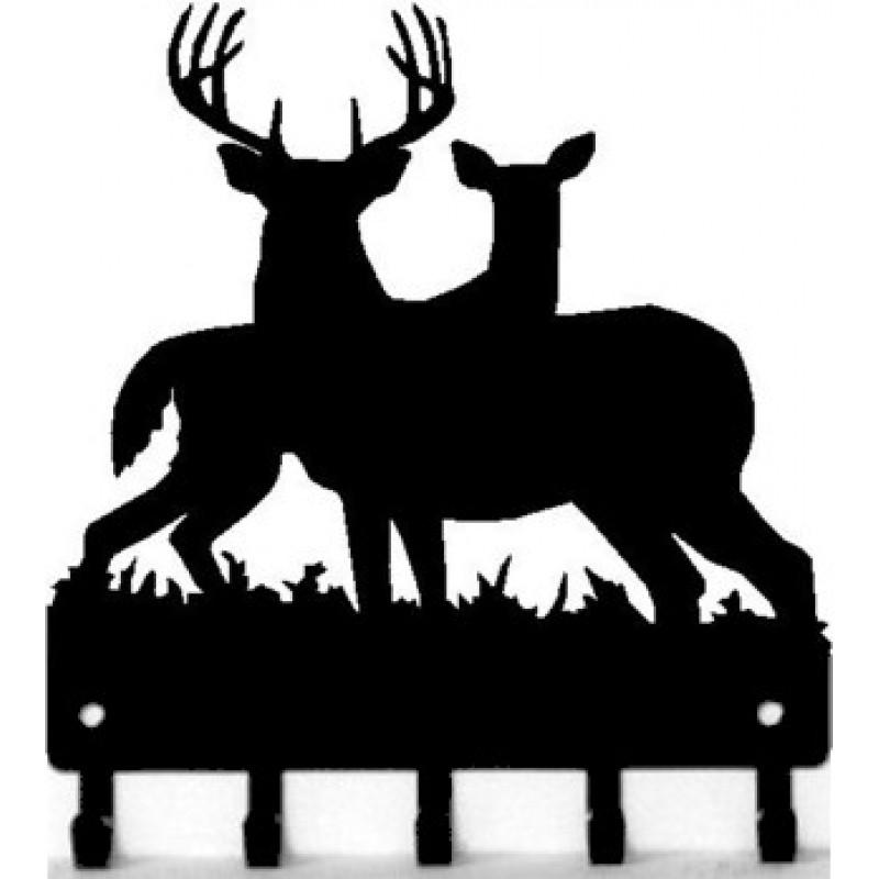 800x800 Deer Welcome Sign