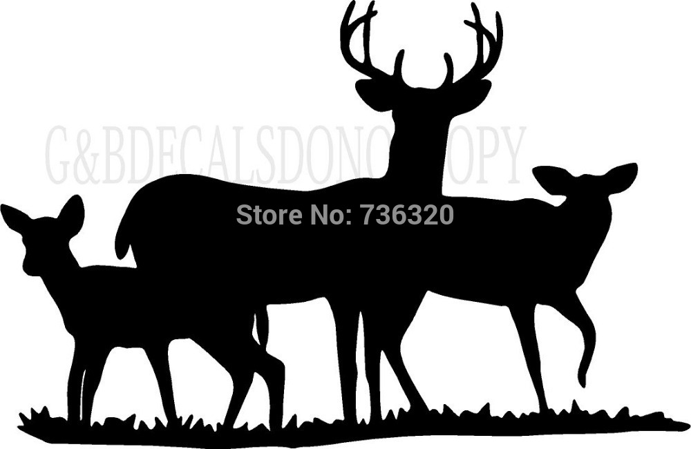 1000x650 Graphics For Deer Family Clip Art Graphics