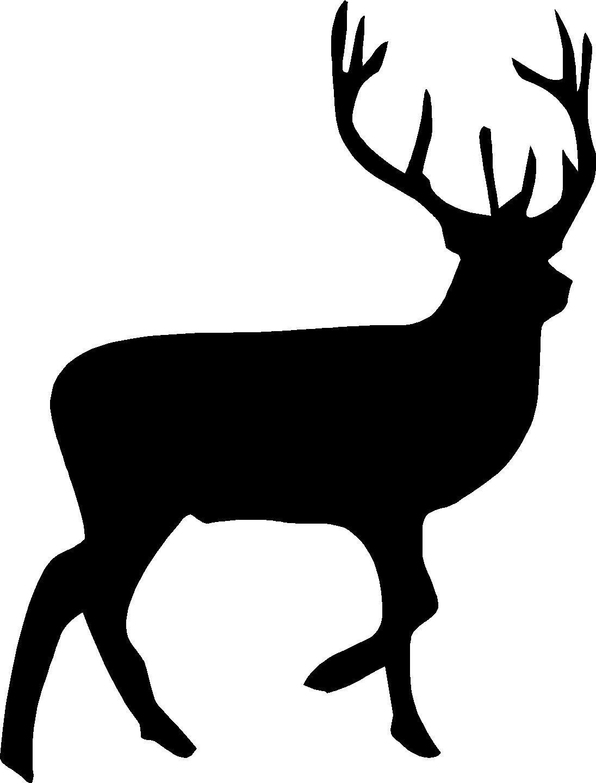 1096x1440 Deer Clipart Silhouette