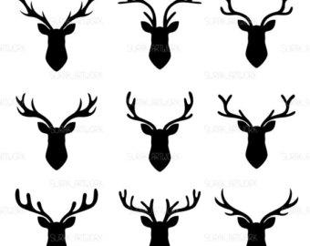 340x270 Deer Silhouette Clip Art Deer Vector Silhouettes Hipster