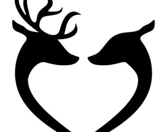 340x270 Deer Clipart Etsy