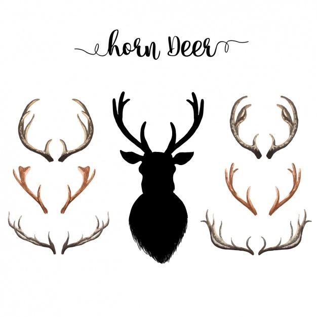 626x626 Antler Clipart Deer Horn