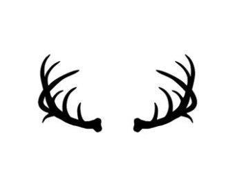 340x270 Deer Clipart Moose Antler