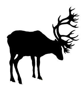 280x294 Top 89 Caribou Clip Art