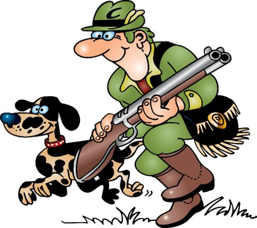 Deer Hunter Clipart