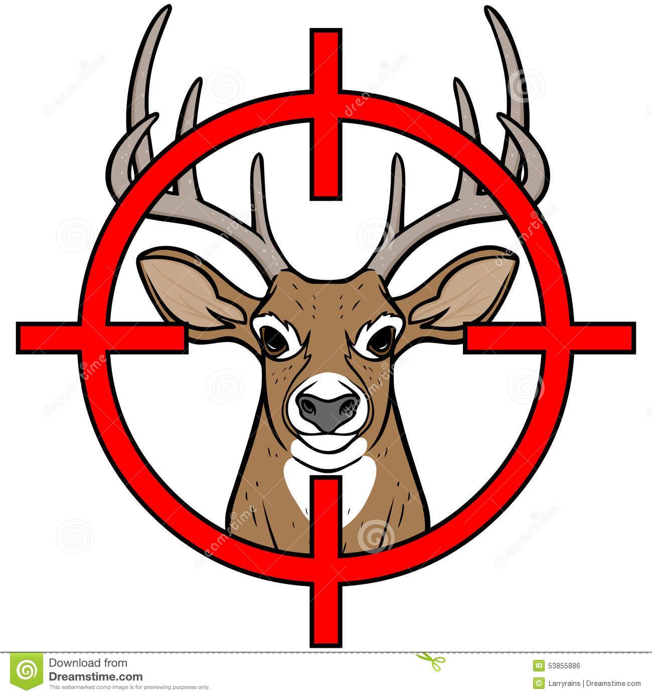 1300x1390 Deer Hunting Clipart