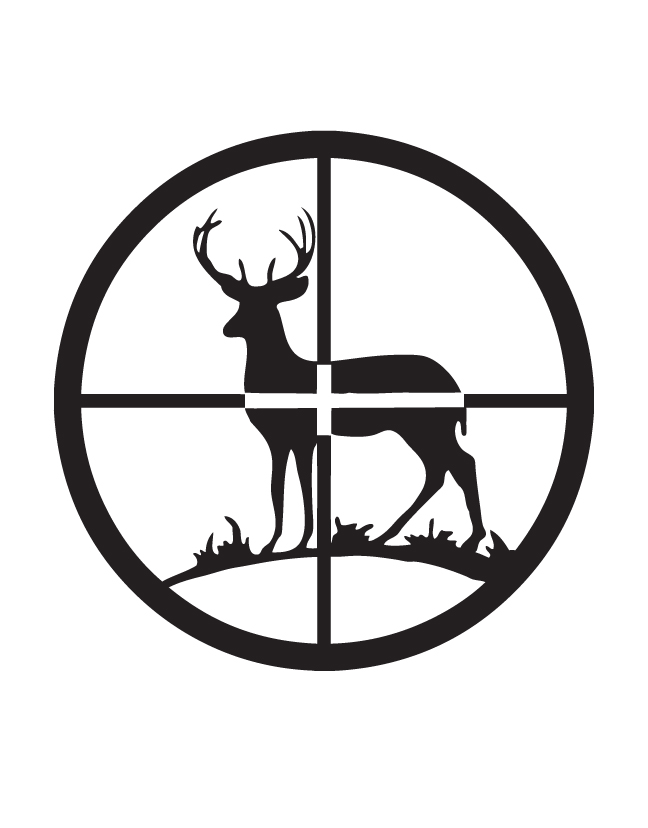 648x828 Hunting Clipart Crosshairs