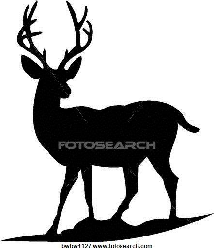 442x520 Buck Clipart Mule Deer
