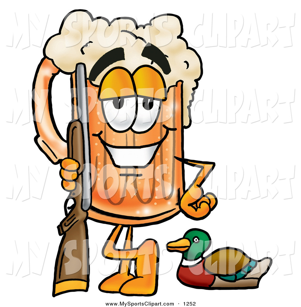 1024x1044 Cartoon Hunter Clipart