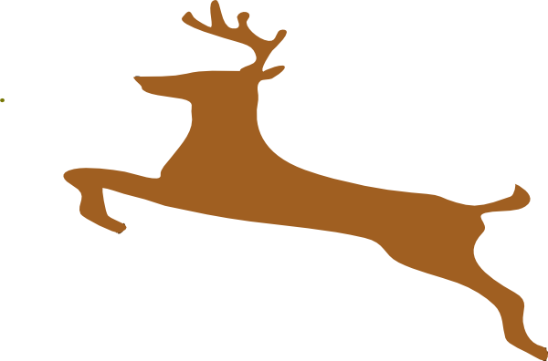 600x396 Deer Hunting Clipart
