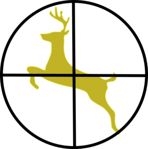 297x300 Hunting Cross Hairs Clip Art