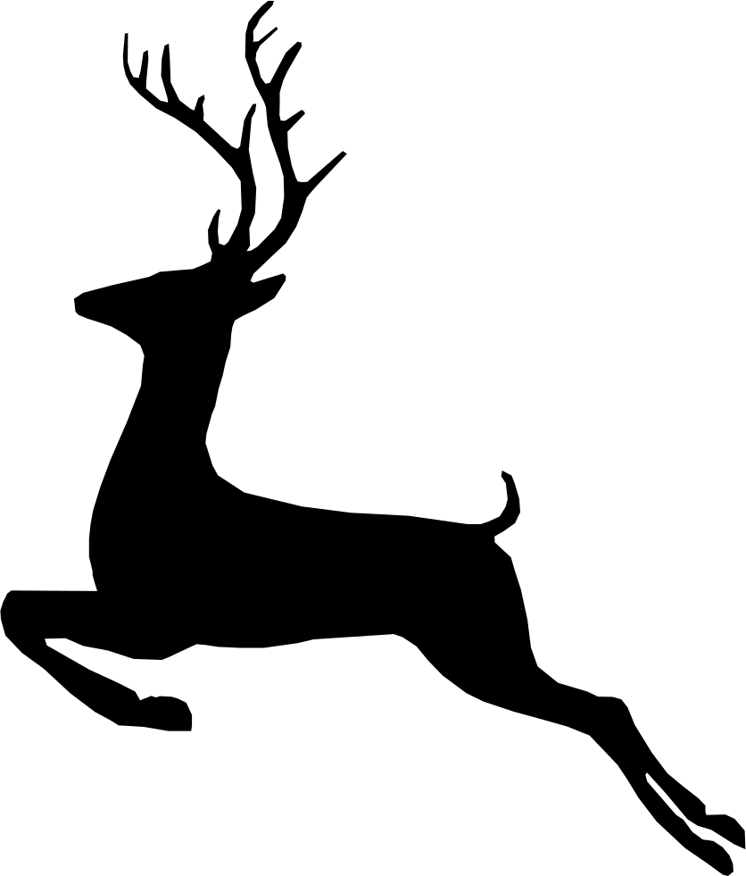 836x981 Deer Svg Png Icon Free Download ( 205926)