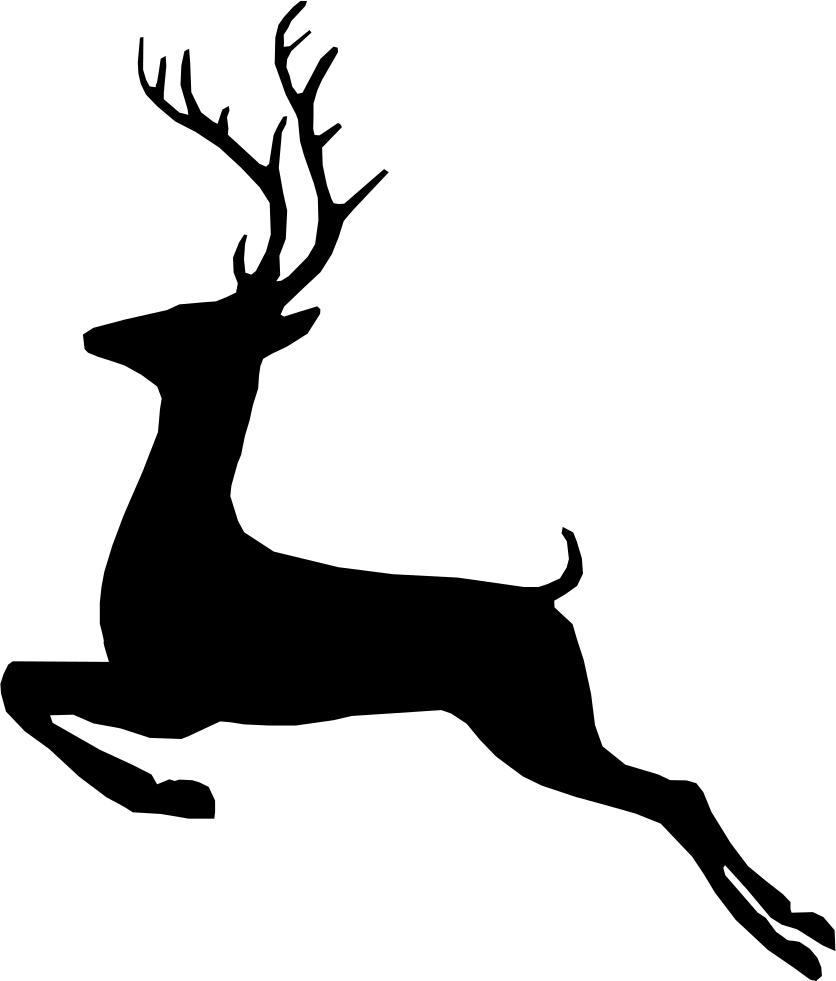 836x981 Deer Svg Png Icon Free Download ( 205926)