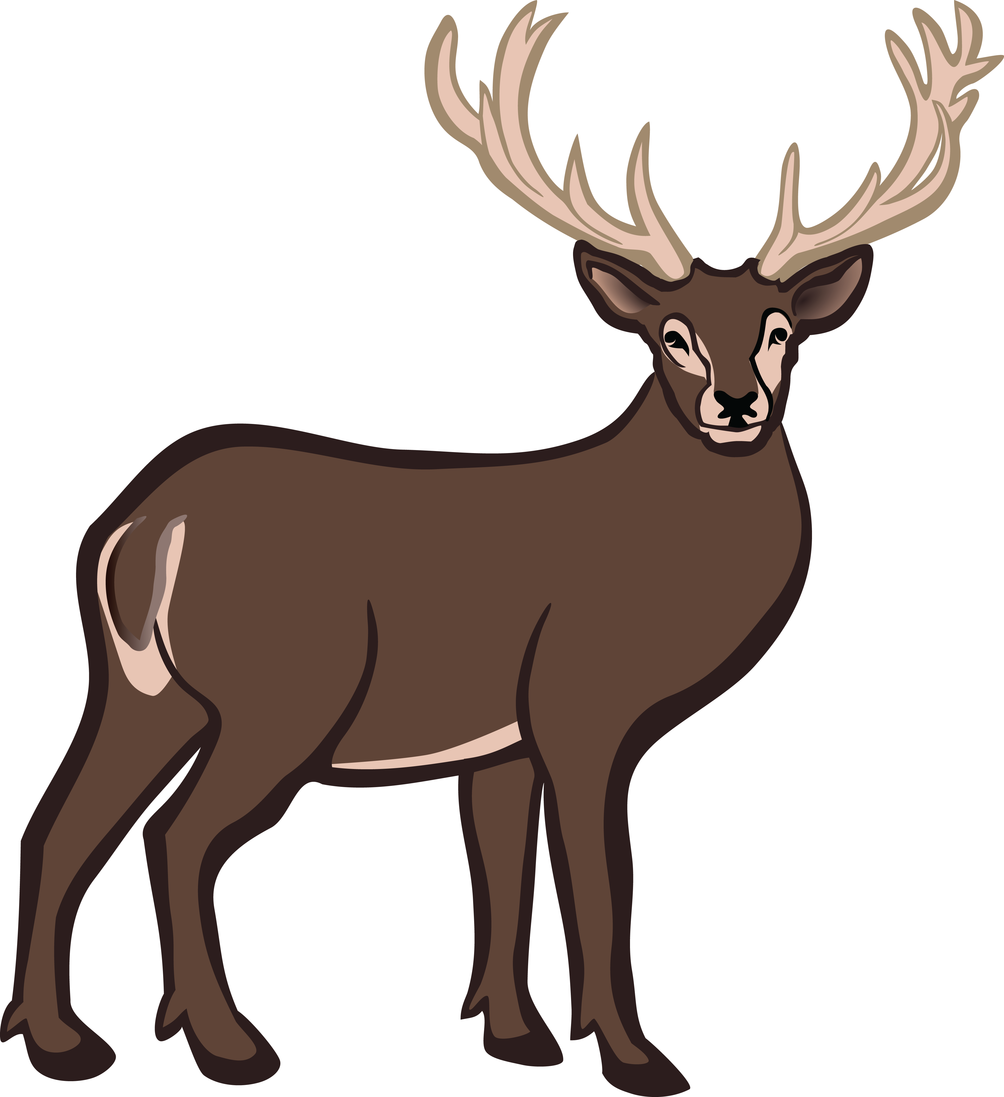 deer clipart buck clipartmag proteins sous vide temperature