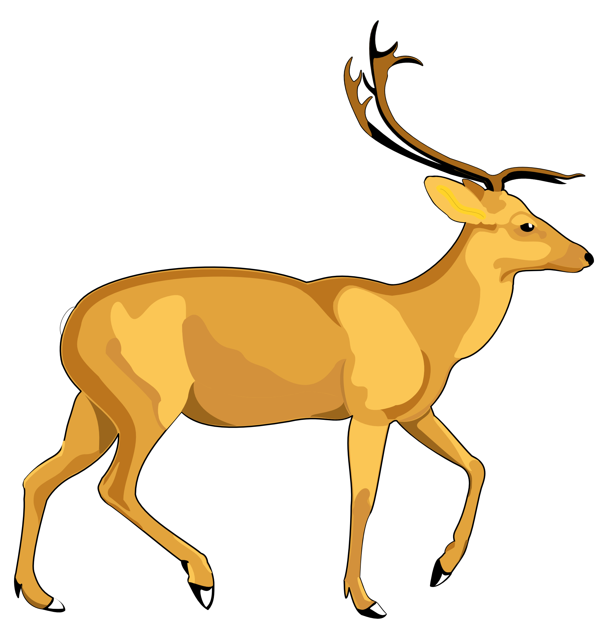 1950x2050 Deer Png Images